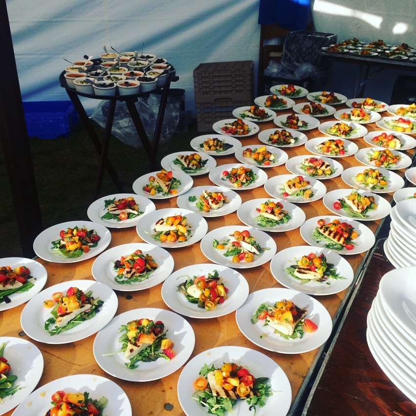 Salad dishes - Galo Kitchen Event Catering Services