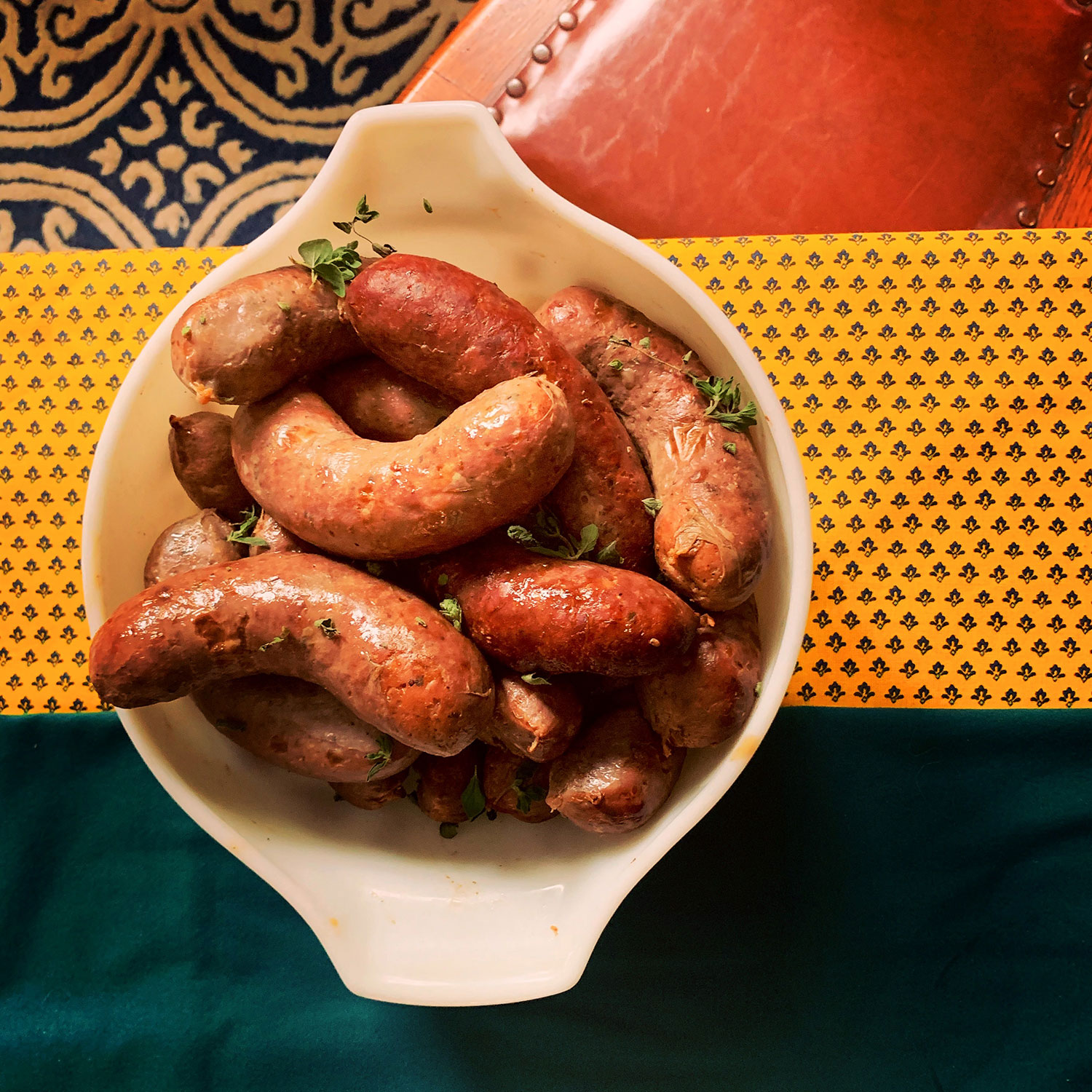 sausage family - private chef services olive NY