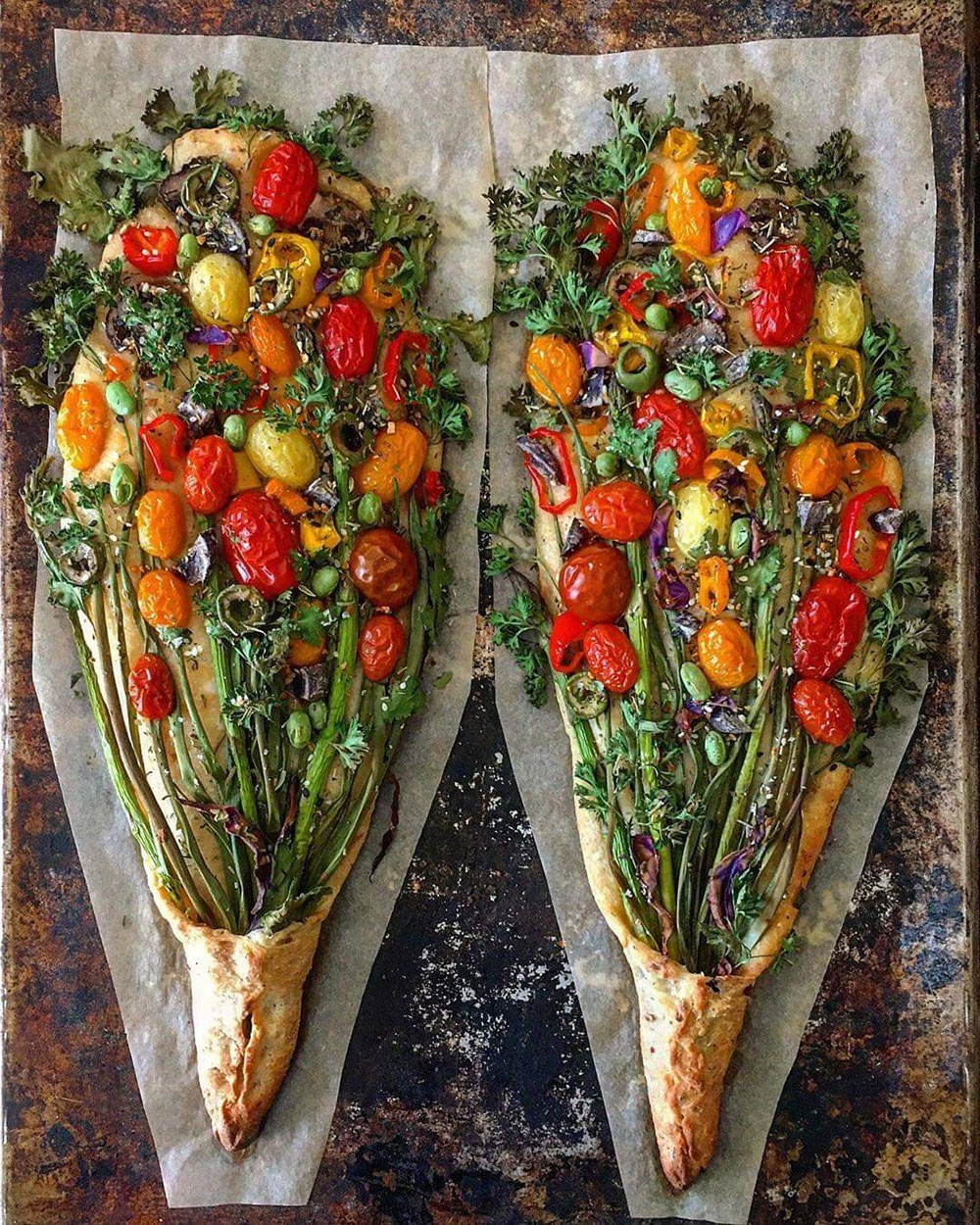 hire a personal chef prepared summer vegetables